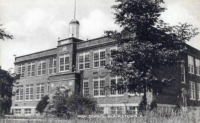 high school, blairstown, NJ 1928