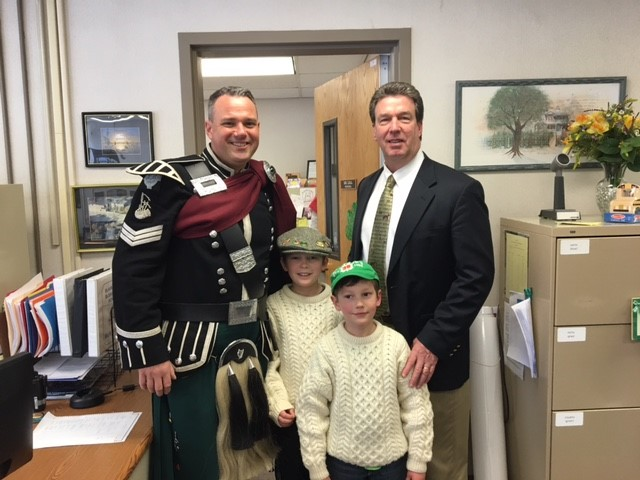 A big thank you to Mr. Donlon for coming to BES on 